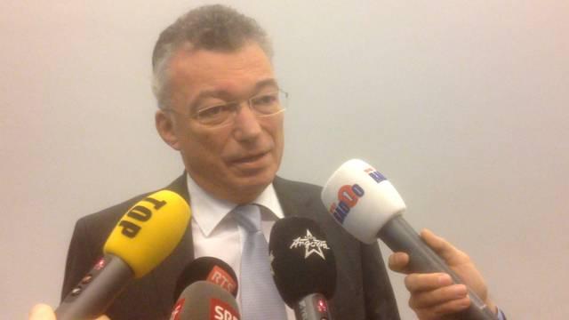 «Es gibt nicht genügend Daten»: Ensi-Direktor Hans Wanner an der Medienkonferenz am Mittwoch.