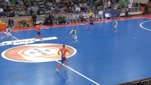 Schweizer spielen Futsal auf höchstem Niveau