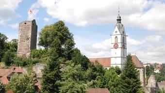 Die römisch-katholische Kirche in Laufenburg.