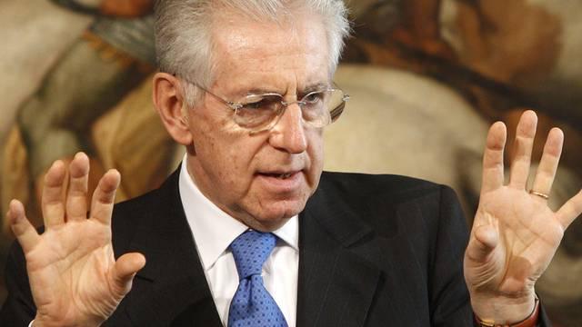 Der italienische Premier Mario Monti (Archiv)