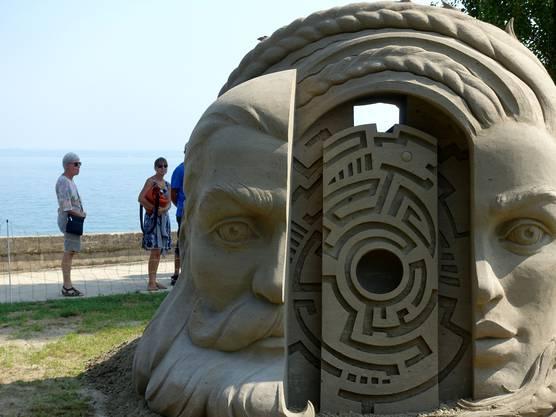 Sandfiguren von Roschach