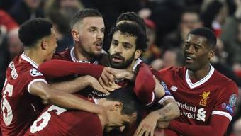 Mohamed Salah - Mittelpunkt des Liverpooler Jubels