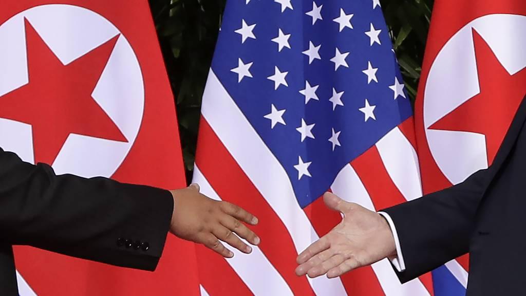 Donald Trump trifft Kim Jong-un