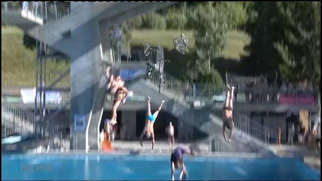 Weltrekordversuch in der Badi Köniz
