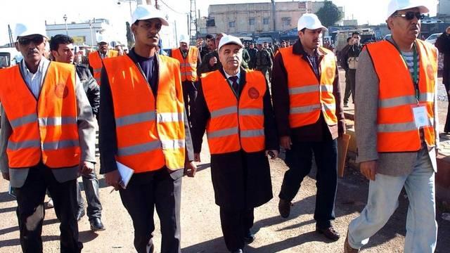 Mitglieder der Beobachtermission in Syrien