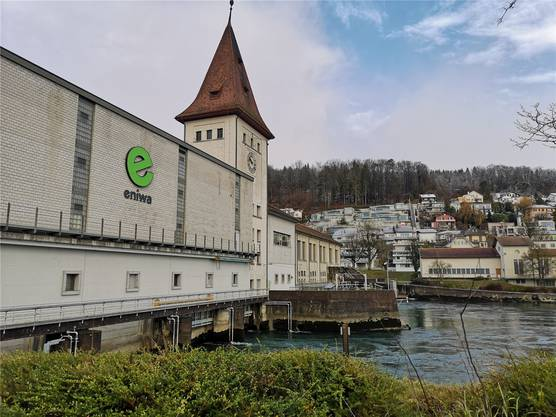 Das bestehende Wasserkraftwerk in Aarau ist sanierungsbedürftig.