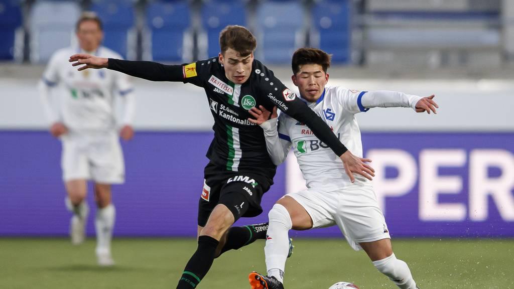 Torreiche Partie endet für St.Gallen mit knapper Niederlage