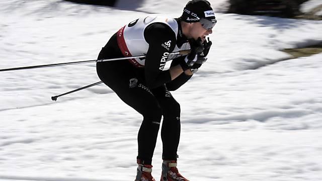 Dario Cologna lief die beste Abschnittszeit aller Klassisch-Läufer.