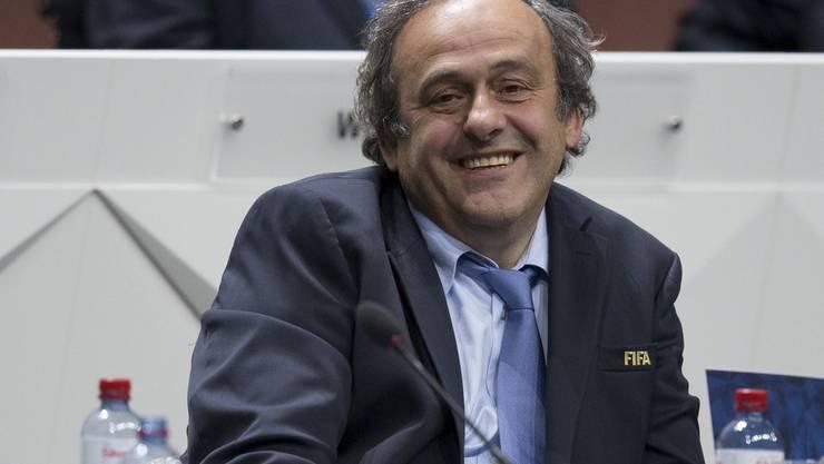 Wird immer weider als Kandidat gehandelt: Michel Platini.