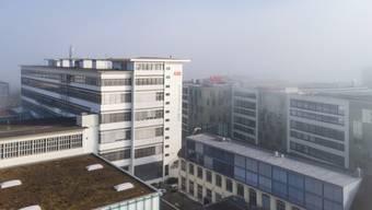 Prägt das Stadtbild: Das Turbolader-Gebäude an der Bruggerstrasse in Baden.