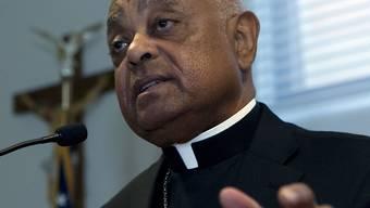 Mit Wilton Gregory hat der Papst erstmals einen Afroamerikaner zum Erzbischof von Washington ernannt.  (AP Photo/Jose Luis Magana)
