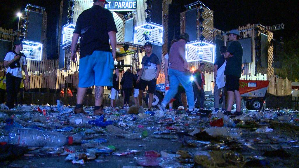 Neues Abfallkonezpt an der Street Parade getestet