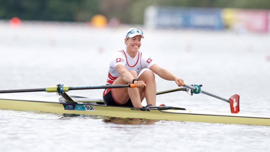 Jeannine Gmelin schaffte souverän den Vorstoss in den WM-Halbfinal