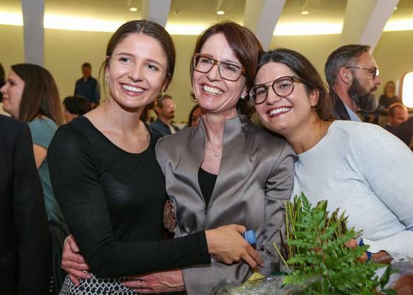 Susanne Vincenz-Stauffacher wurde am Samstag an der ersten digitalen Mitgliederversammlung der FDP Frauen zur Präsidentin gewählt. Da gab es keinen realen Blumenstrauss wie noch im Oktober 2019 nach der Wahl in den Nationalrat.