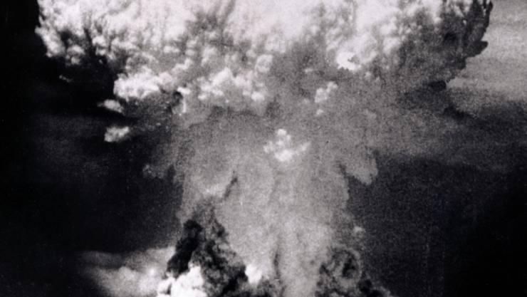 Die UNO macht mit einem neuen Vertrag gegen Atomwaffen mobil. Der bislang letzte Atombombenangriff auf eine Stadt erfolgte in Nagasaki. (Archivbild)