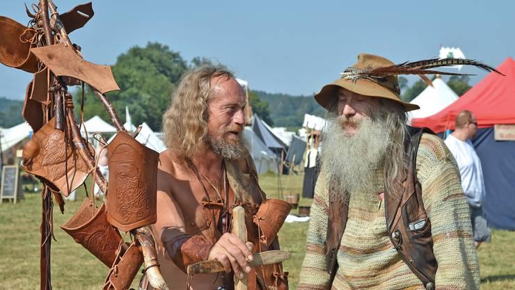 Die zweiten internationalen Highlandgames in Wolfwil