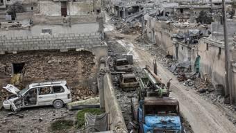 Vor einem Wiederaufbau muss Kobane wieder sicher gemacht werden