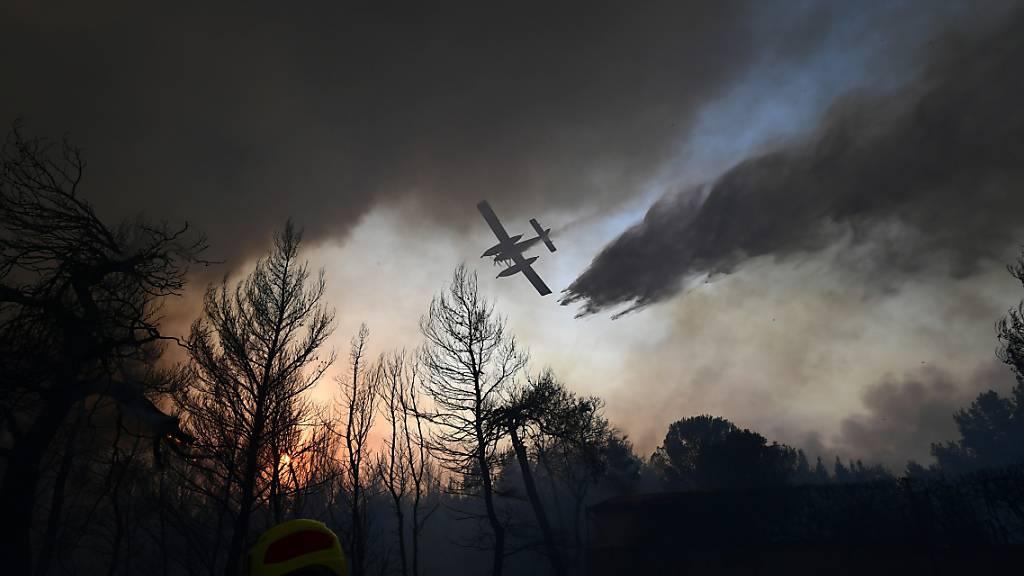 Grosse Brände in Griechenland und der Türkei ausser Kontrolle