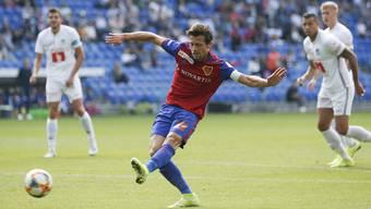 Läuft Valentin Stocker bald im FCL-Dress auf? Noch spielt der Krienser für den FC Basel.