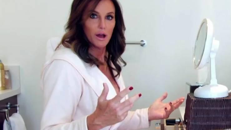 """Caitlyn Jenner in ihrer Reality-Show """"I Am Cait"""", in der sie ihr Leben nach der Geschlechtsumwandlung dokumentiert (Archiv)"""