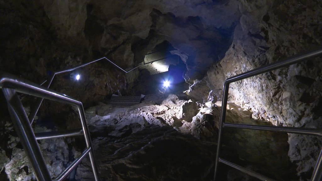Saniert und ausgebaut: Kristallhöhle Kobelwald wieder offen