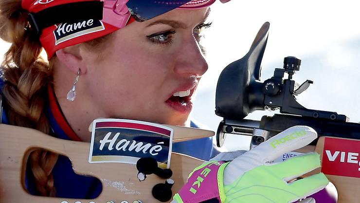 Die tschechische Biathletin Gabriela Koukalova muss auf eine Teilnahme an den Olympischen Winterspielen verzichten