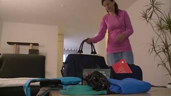 Nichts, was man im letzten Moment erledigen sollte: richtig packen für den Hund.