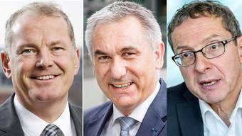 Die Bisherigen Hofmann, Hürzeler und Attiger betonen Teamgeist und plädieren mehr oder weniger für eine Frau im Regierungsrat.