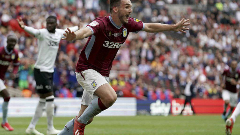 John McGinn erzielt den entscheidenden Treffer zum Aufstieg von Aston Villa