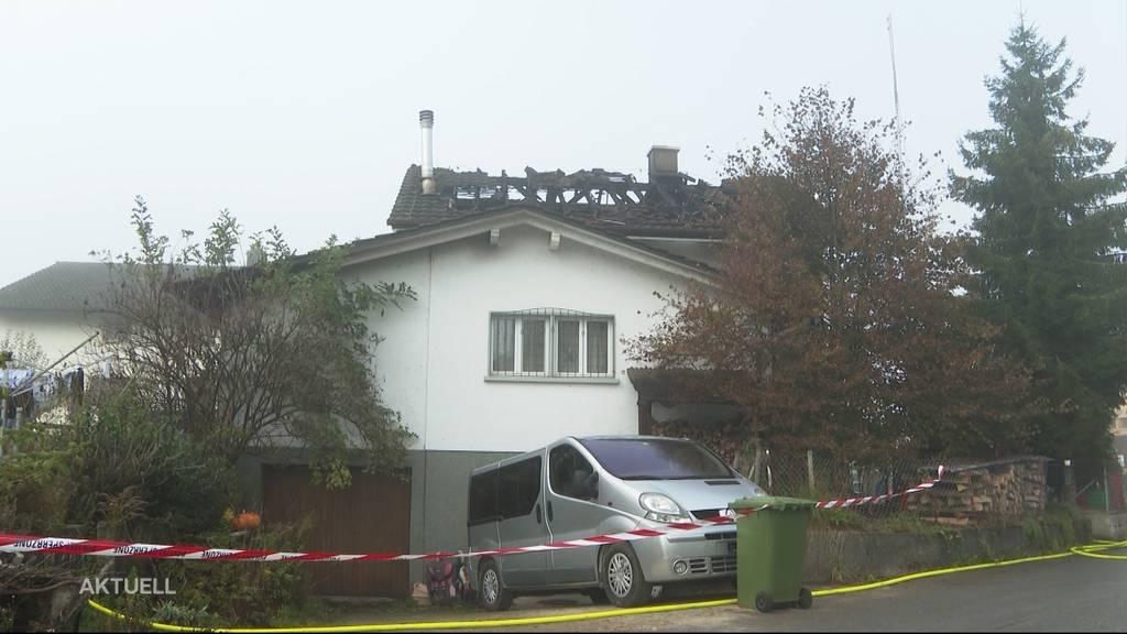 Brand-Tragödie Leuzigen: 2 Kinder sterben
