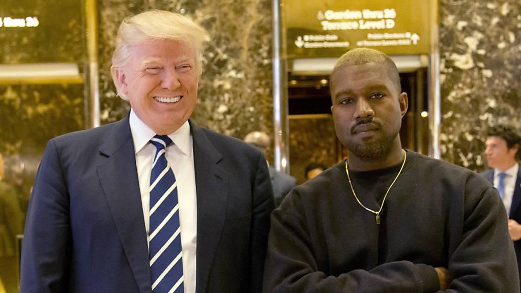 Trump findet Präsidentschaftspläne von Kanye West «sehr interessant»
