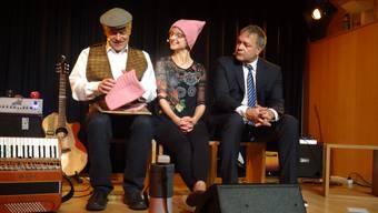 Feierten Première: Thomas Lutz, Heidi Christen und Stefan Baier (von links).