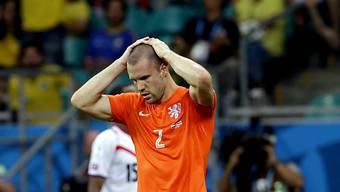 Ron Vlaars Einsatz im WM-Halbfinal steht auf der Kippe