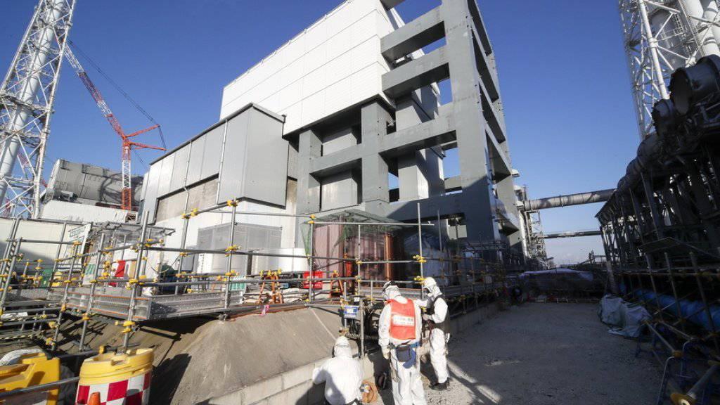 Betreiber sieht Fortschritte in Atomruine Fukushima