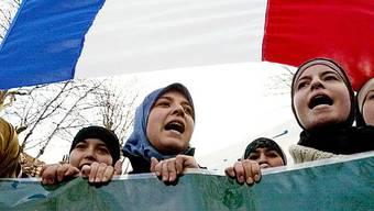 Musliminnen in Frankreich (Archiv)