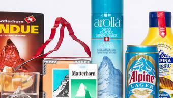 Der wohl bekannteste Berg der Schweiz, das Matterhorn, zielt allerlei Artikel in aller Welt. Das macht eine Pop-Up--Ausstellung des Alpinen Museums Bern zum Thema. Zu sehen ist sie auf dem Gornergrat.