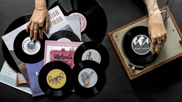 Comeback dank neuer Technologie: Die gute alte LP wird wieder aufgelegt.