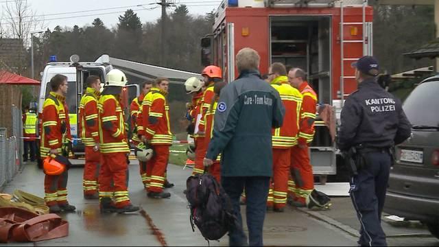 Ausgerückt an einen Brand standen sie plötzlich mitten in einem Tatort: So verarbeiten die Feuerwehrmänner das Drama von Rupperswil