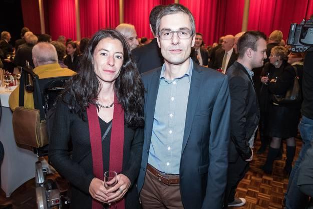 Tanja Soland (Grossrätin) und André Equey (Präsident Gericht für Strafsachen BS).