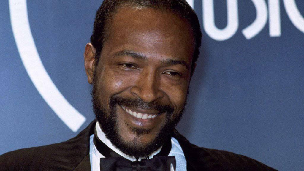 Singer-Songwriter Marvin Gaye ein Jahr vor seinem Tod: Jetzt bekam seine Familie in einen Plagiatsprozess fast fünf Millionen Dollar zugesprochen. (Archivbild)