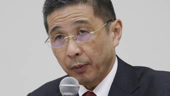 Der Nissan-Chef Hiroto Saikawa steht unter Druck:  Nach dem Rausschmiss von Carlos Ghosn muss er den japanischen Autokonzern aus dem Tief führen. Heute wurde der Abbau von 12'500 Arbeitsplätzen angekündigt. (Archivbild)