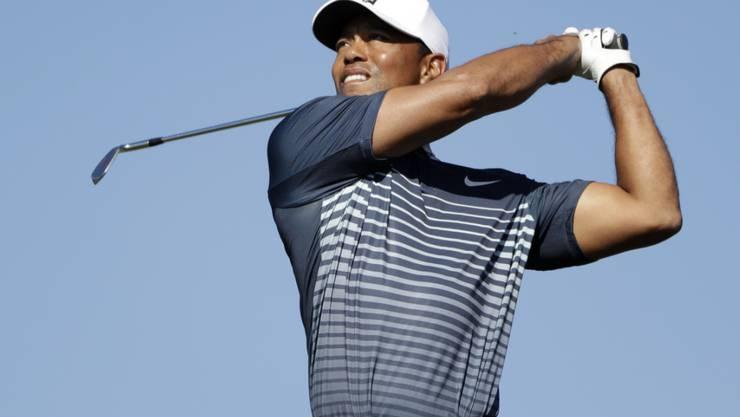Tiger Woods hat schon wieder vieles unter Kontrolle
