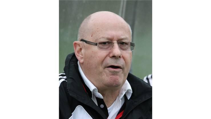 Rothrists Trainer Willy Neuenschwander ist zufrieden.