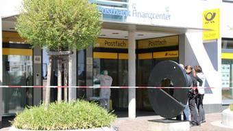 Überfall auf Postbank in Waldshut