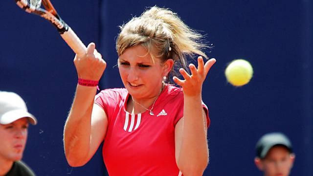 Auch im Fedcup erfolgreich: Timea Bacsinszky