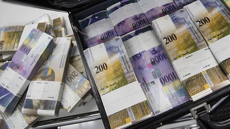 Der Kredit in der Höhe von 36 Millionen Franken wurde um 730`000 Franken unterschritten. (Symbolbild)