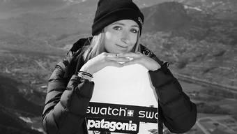 Kam beim Lawinenunglück im Unterwallis ums Leben: die 21-jährige Freeride-Snowboarderin Estelle Balet