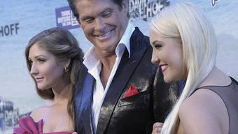 Das Lachen dürfte ihnen vergangen sein: Hasselhoff und seine Töchter