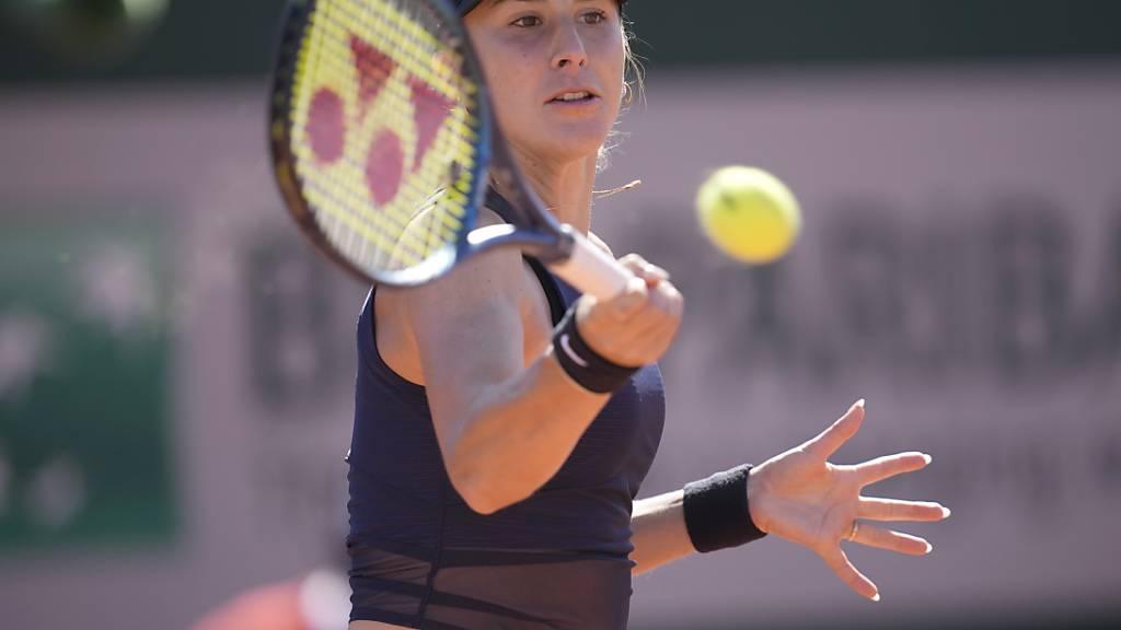 Belinda Bencic machte mit der letztjährigen Halbfinalistin Nadia Podoroska kurzen Prozess