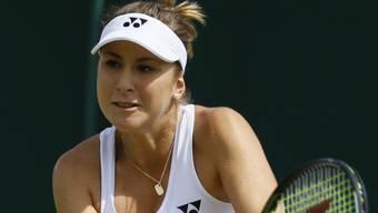 In Washington eine Runde weiter: Belinda Bencic